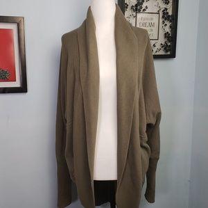 Aritizia Wilfred Open Sweatshirt Cardigan